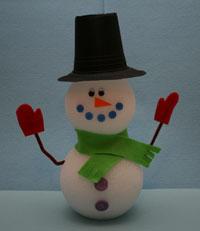 styrofoam-snowman